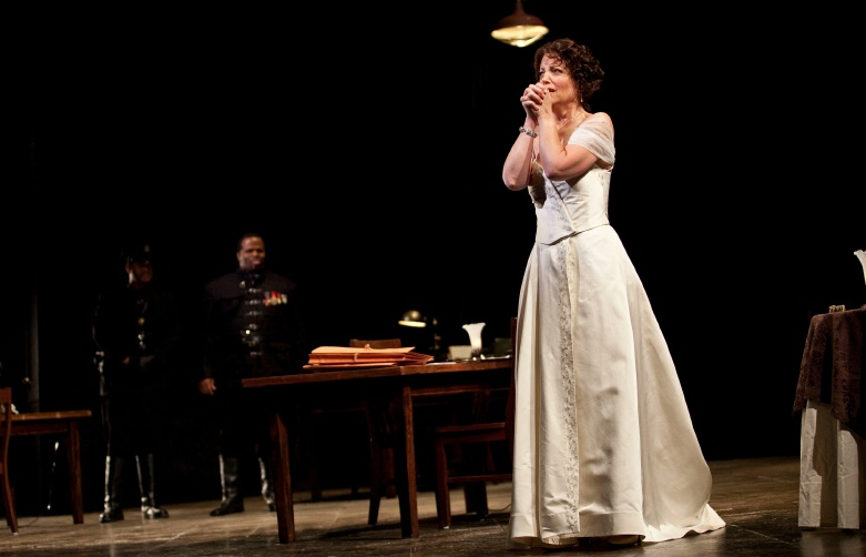 Tosca at Glimmerglass Opera (Photo: Karli Cadel)