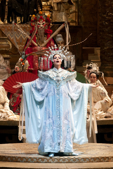 Turandot at The Metropolitan Opera (Photo: Marty Sohl)
