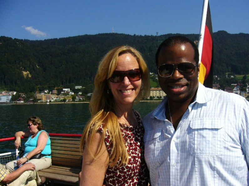 In Bregenz, Austria with baritone Lester Lynch